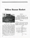 "Willow Bazaar Basket"" pattern by Bonnie Gale"