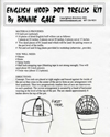 """English Hoop Pot Trellis"" kit by Bonnie Gale"