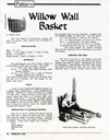 """Willow Wall Basket"" pattern by Bonnie Gale"